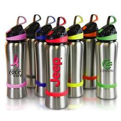 Best selling bottle for fundraising and awareness events. Customize the band with your awareness event of choice.