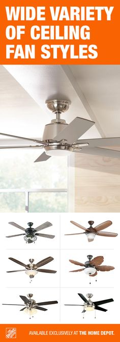 Home Decorators Collection - Hampton Bay - Integrated LED - Ceiling Fans With Lights - Ceiling Fans - The Home Depot Outdoor Fans, Basement Inspiration, Cherik, Led Technology, Barndominium, Rustic Farmhouse Decor, Refurbished Furniture, Ceiling Fans, House Floor Plans