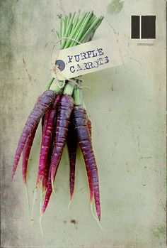 loving dutch purple carrots.. Torie & Howard USDA Certified Organic Candy have NO aritificial colors, dyes or flavors.  Our coloring come from veggies like these carrots, and beets.......all goodness.