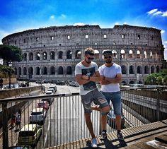 Tanti saluti da Roma!! #2cellos #rome #italy