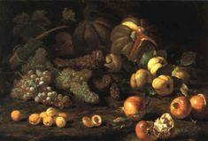 Abraham Brueghel (Flemish, - Natura morta con uve, albicocche, angurie, zucche e melagrane .Oil on Canvas x 107 cm Global Art, Art Market, Oil On Canvas