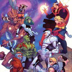 ¡La BatallaMarvel del día es interestelar!: Los Vengadores Vs Guardianes de la Galaxia