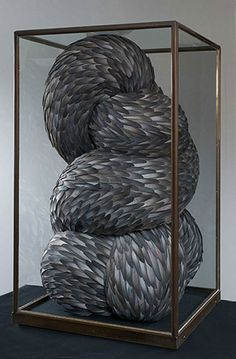 Sculpture by Kate McGuire.  #art #sculpture