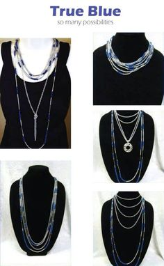 Premier Designs True Blue necklace. Check out more at http://alycia.mypremierdesigns.com