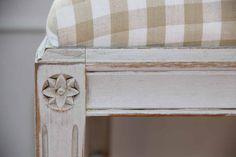 Classic Swedish Gustavian detail & check