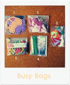 *busy bag Ideas