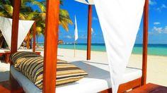 Beach beds - Villa del Palmar Cancun Beach Resort & Spa