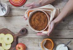 Nome bonito para uma sobremesa simples, do mais simples que há, com os sabores do outono