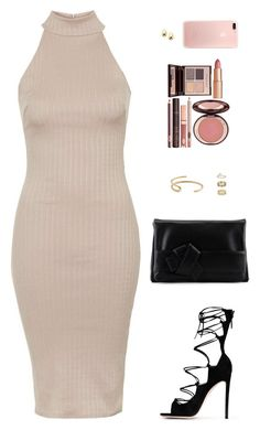 """Sin título #4346"" by mdmsb on Polyvore featuring moda, Topshop, Gianvito Rossi, L'Autre Chose, Fay Andrada, Miss Selfridge y Charlotte Tilbury"