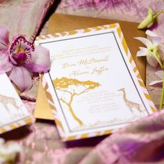 """Wedding Wars 2016 """"Coming To America"""" themed vignette. Invitations by Hey Girl Events. Photography by Ashley Kidder"""
