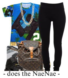 """""""HUAHH !!"""" by nanuluv ❤ liked on Polyvore featuring Retrò, The Row, Lacoste, Louis Vuitton, Helmut Lang and Jane Norman"""