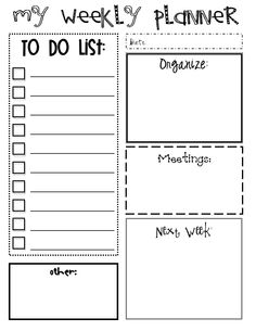 Planner Inserts On Pinterest Home Management Binder