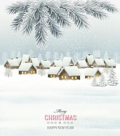 Retro christmas background with winter landscare and tree branch vector - https://www.welovesolo.com/retro-christmas-background-with-winter-landscare-and-tree-branch-vector/?utm_source=PN&utm_medium=welovesolo59%40gmail.com&utm_campaign=SNAP%2Bfrom%2BWeLoveSoLo