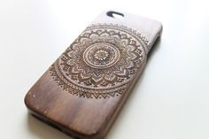 Naj=== nice!! Walnut Wood iPhone 5c Case Wooden iPhone 5c Case by NaturePieces, $22.00