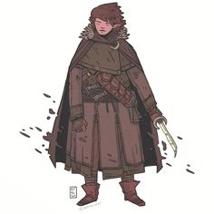 Bone-Knife Coolcloak (not real name) a commission