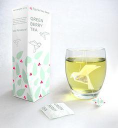 Tea Concept - Green Berry Tea