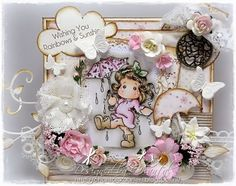 Cards made by Chantal: Marvelous Magnolia Challenge - Lovely lace