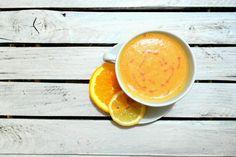 Koktajl pomarańczowo - wiśniowy wyszedł przepyszny  --->   Cocktail orange - cherry came out delicious