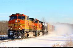 RailPictures.Net Photo: BNSF 5257 CSX Transportation (CSXT) GE C44-9W (Dash 9-44CW) at Guilderland, New York by Nathan DeFayette