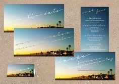 Cali Love individuelle kreative Hochzeitskarten