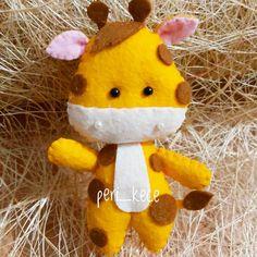 6,946 ακόλουθοι, ακολουθεί 247 χρήστες,  766 δημοσιεύσεις - Δείτε φωτογραφίες και βίντεο στο Instagram από το χρήστη @peri_kece Giraffes, Zebras, Felt Giraffe, Felt Decorations, Baby Room Decor, Teddy Bear, Horses, Christmas Ornaments, Toys