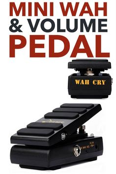 9 Donner Wah Cry 2 in 1 Mini Guitar Wah Effect|Volume Pedal True Bypass