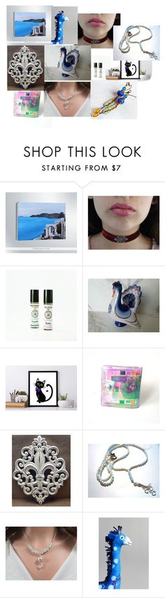 """I love Santorini"" by paola-pabu ❤ liked on Polyvore featuring Isolá and Animale"