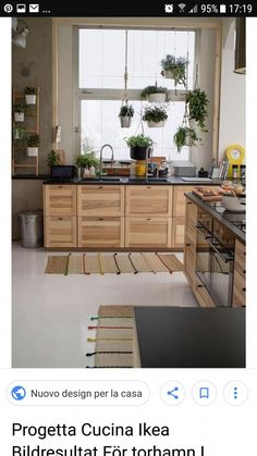 I like the TORHAMN for lower cabinets, but probably have HITTARP (white beadboard) or something similar for upper cabinets. as seeing both is a bit too much wood. Swedish Kitchen, Rustic Kitchen, New Kitchen, Country Kitchen, Ikea Kitchen Cabinets, Rental Kitchen, Cuisines Design, Küchen Design, Modern Kitchen Design