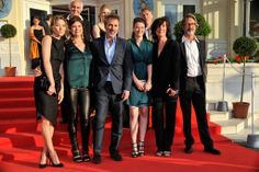 Part of Feature Film Jury - From left to right: Laura Smet, Anne-Dominique Toussaint, Gilbert Melki, Pauline Etienne, Catherine Corsini, Martin Provost