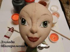 6 Роспись и тонировка лица куклы