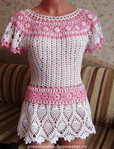Crochet Clothing : about Crochet Clothing/Fashion on Pinterest Crochet tops, Crochet ...