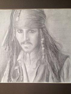 by MulberryTreeShoppe Nail Art Printer, Pirate Life, Jack Sparrow, Dark Eyes, Graphite, Mulberry Tree, Fine Art, The Originals, Portrait