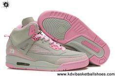 2013 New Women Air Jordans 3.5 Embroidery Grey Pink Fashion Shoes Shop