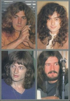 Jimmy Page, Robert Plant, John Bonham & John Paul Jones   Led Zeppelin