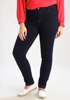 Zizzi NILLE - Jean slim - blue denim - ZALANDO.CH Jeans Slim, Skinny Jeans, Blue Denim, Black Jeans, Pants, Fashion, Blue, Trouser Pants, Moda