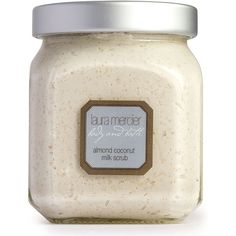 Laura Mercier Almond Coconut Milk Scrub/12 oz. ($50) ❤ liked on Polyvore featuring beauty products and cosmetics - laura mercier