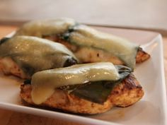 Pioneer Woman's Green Chile Chicken - Boneless Skinless Chicken Breast in a Spicy Marinade with Roasted Poblano Chile & Cheese