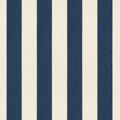 Canopy Stripe Navy & Sand Sunbrella® Fabric by the Yard