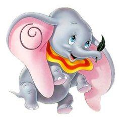 Alfabeto de Dumbo aprendiendo a volar. - Oh my Alfabetos!