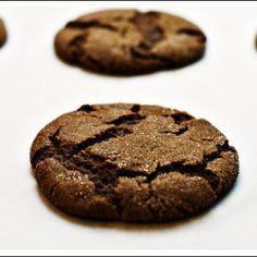 Chewy Ginger Cookies...deliciously perfect!