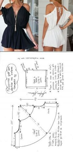 cute sexy looking dress pattern Sewing Dress, Dress Sewing Patterns, Diy Dress, Sewing Clothes, Clothing Patterns, Fashion Sewing, Diy Fashion, Ideias Fashion, Fashion Outfits
