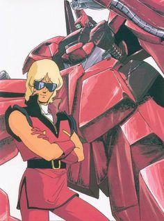 Yoshikazu Yasuhiko, Sunrise (Studio), Mobile Suit Zeta Gundam, Char Aznable