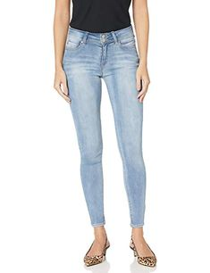 $16.99 - $67.99 WallFlower Womens InstaSoft Ultra Fit Skinny Jeans Imported  Button Fly closure  Machine Wash  Mid-rise high performance fit, slims through hip and thighs, and skinny leg opening  Made with premium Instasoft denim, our super soft, super stretch jean is the softest jean with performance stretch instasoft denim, our super soft, super stretch jean is t... #womanfashion,#womanfashions,#woman,#fashionhub, #fashionlover, #fashionlife, #fashion,#oufitideas,#outfit Fashion Hub, Fashion Brands, Jeans Store, Super Stretch Jeans, Levi Strauss & Co, Juniors Jeans, Jeans Brands, Skinny Legs, Denim