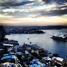 sydney australia from the shangri la hotel