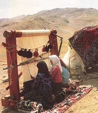 Nomadic weavers.Embroidered Blankets from The Marsh Arabs(Ma'dan)of Beni Hassan villages of Southern Iraq