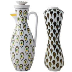 Stig Lindberg Vase and Jug | From a unique collection of antique and modern vases at http://www.1stdibs.com/furniture/dining-entertaining/vases/