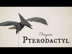 How to make an Origami Pterodactyl / Pteranodon (Tadashi Mori) - YouTube