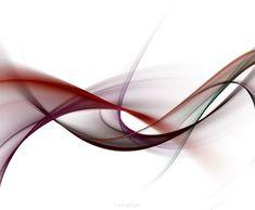 abstrakcja grunge czerwone fale na białym tle 52423443
