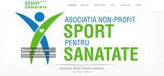 Site ONG sport www.sportpentrusanatate.ro