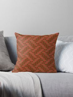 A Fancy Striped Rhombic Design Throw Pillow. Vibrant double-sided print throw pillows to update any room. Soft and durable 100% spun polyester cover with an optional polyester fill/insert. Concealed zip opening for a clean look and easy care. #redbubble #homedecor #throwpillow #homeandliving #bedroomdesign #findyourthing #printondemand #giftideas #roomdecor #sleepingaccessories #bedroom #interiorstylist #homeInspiration #interiorlovers #modernhome #decor